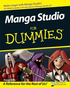 "MANGA STUDIO ""X"" FOR DUMMIES"