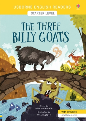 The three billy goats - english readers starter level
