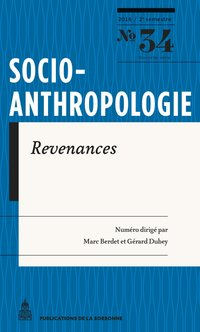 Socio-anthropologie n°34