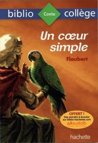 Un coeur simple, Flaubert