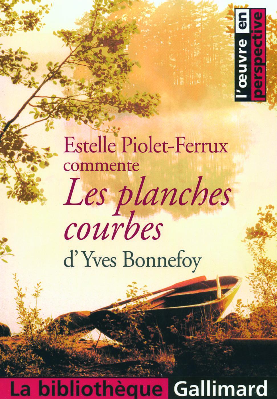 Les Planches Courbes Dyves Bonnefoy Estelle Piolet Ferrux Librairie Eyrolles